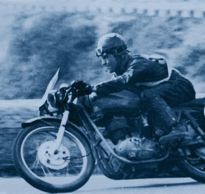 Tonino Trittici su Perugina 175 Giro d'Italia del 1956 (2)
