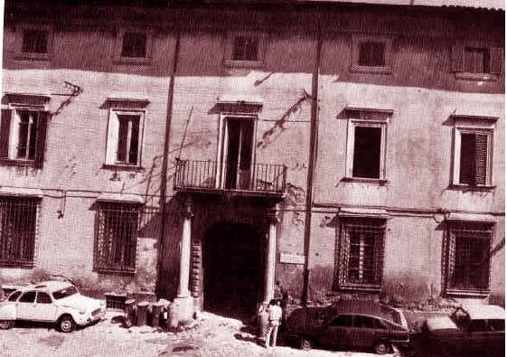Pio VII benedice i ternani dal balcone dei Gazzoli