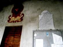 Lapide in comune tra due frazioni a ricordo dei caduti nella prima guerra mondiale