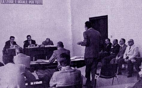 processo a sotgiu per denuncia rusciu