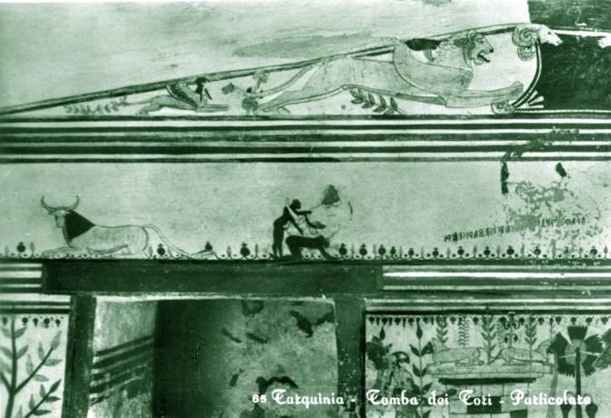 "Tre ditte ternane nei guai: ""oscene"" le cartoline coi dipinti etruschi"