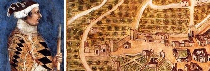 Braccio da Montone incendia Porta Spoletina