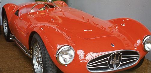 Una Maserati prima alla Spoleto-Monteluco del '54