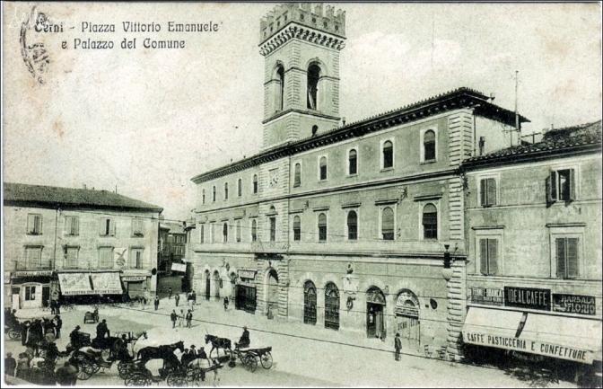 1889, il governo scioglie il consiglio comunale di Terni