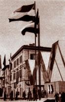 Mussolini a alla Terni 1940