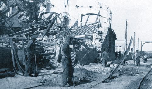 Niente allarme e all'improvviso le bombe su Terni
