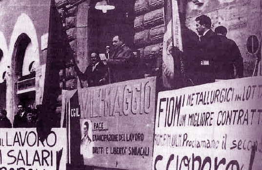 Fiom comizio Terni 1952