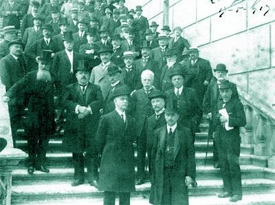1913, i deputati eletti in Umbria