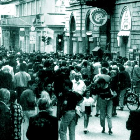 Terni corso Tacito anni '80