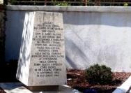 San Carlo, il cippo che ricorda l'incontro tra i soldati piemontesi e i ternani