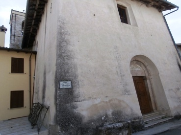 Chiesa Avendita Norcia cascia