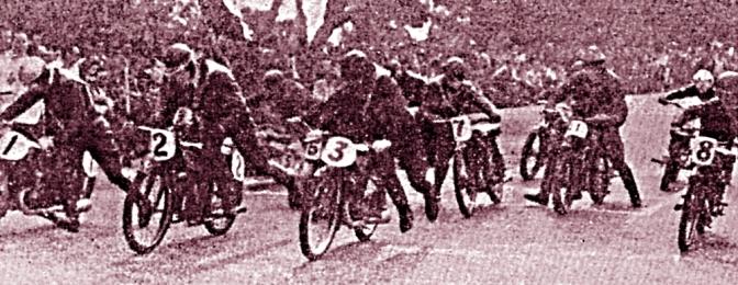 Menichelli, Guzzi, primo al Circuito delle Ferriere