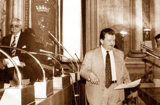 """1993, la """"squadra"""" di Ciaurro"""