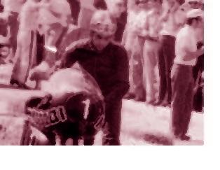 2 un giovanissimo Paolo Pileri al circuito dell'acciaio 1972