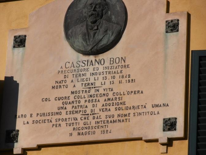 """Cassambò"" sponsor dello sport ternano"