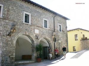 Preci, centro storico