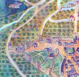 Porta Spoletina (Vescovado di Terni, part.)