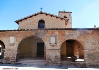 Villa Sant'Antonio (Visso) terremoto: la chiesa crollata