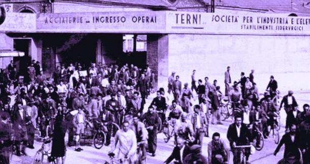 """1948, la """"Terni"""" licenzia migliaia di operai"""