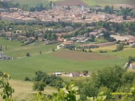 Norcia, panorama dalla strada per Castelluccio