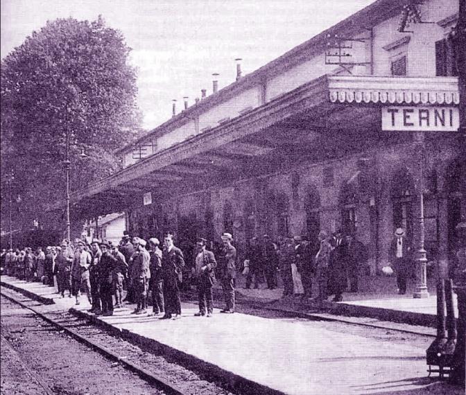 1917, omicidio sul treno per Foligno scoperto alla stazione di Terni
