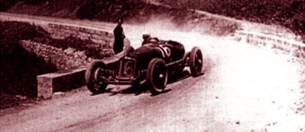 Borzacchini vince la Mille Miglia battendo tutti i record