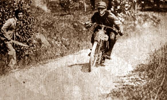 Motogiro 1926, Olindo Raggi vince la tappa di Perugia