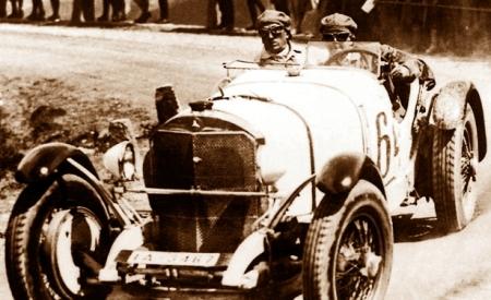 Mercedes d'epoca coppa della Perugina