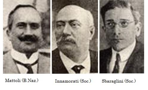 Mattoli, blocco nazionale, Innamorati e Sbaraglini, socialisti