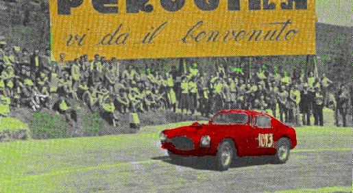 Giro automobilistico dell'Umbria, Gerini su Ferrari l'ultimo vincitore