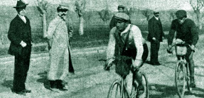 Giro dell'Umbria 1910: Avanzini primo a Terni