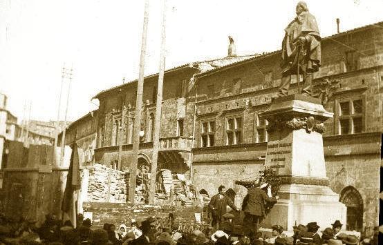 Perugia, s'inaugura il monumento a Garibaldi