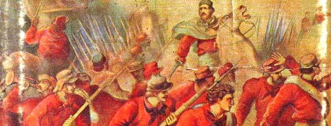 1867, garibaldini e truppe regie ai confini dello stato pontificio