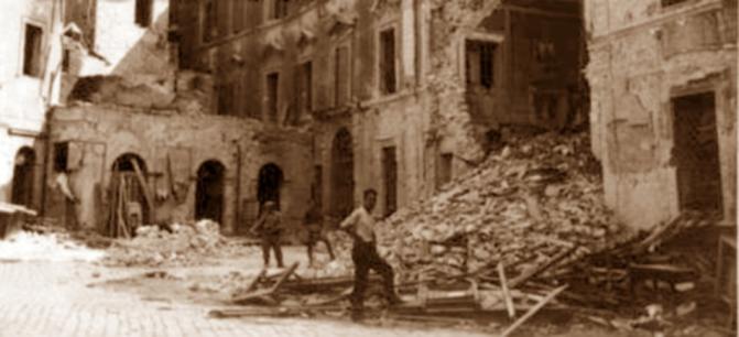 """La ricostruzione di Terni e il """"contropiano"""" per il centro"""