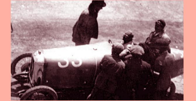 1926, Borzacchini all'esordio domina alla Targa Florio