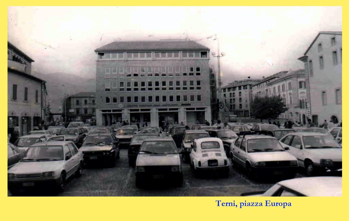 Terni, piazza Europa